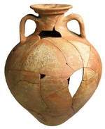 Gauloise Amphora in Sugar Loaf Court Ware