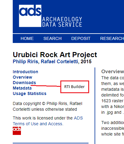 Screenshot of the ADs sidebar with suggested RTI viewer link.