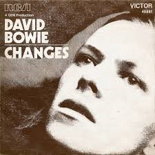 Cover from David Bowie's album 'Changes'. Highlighting changes and improvements to the ADS-easy and OASIS Images services.