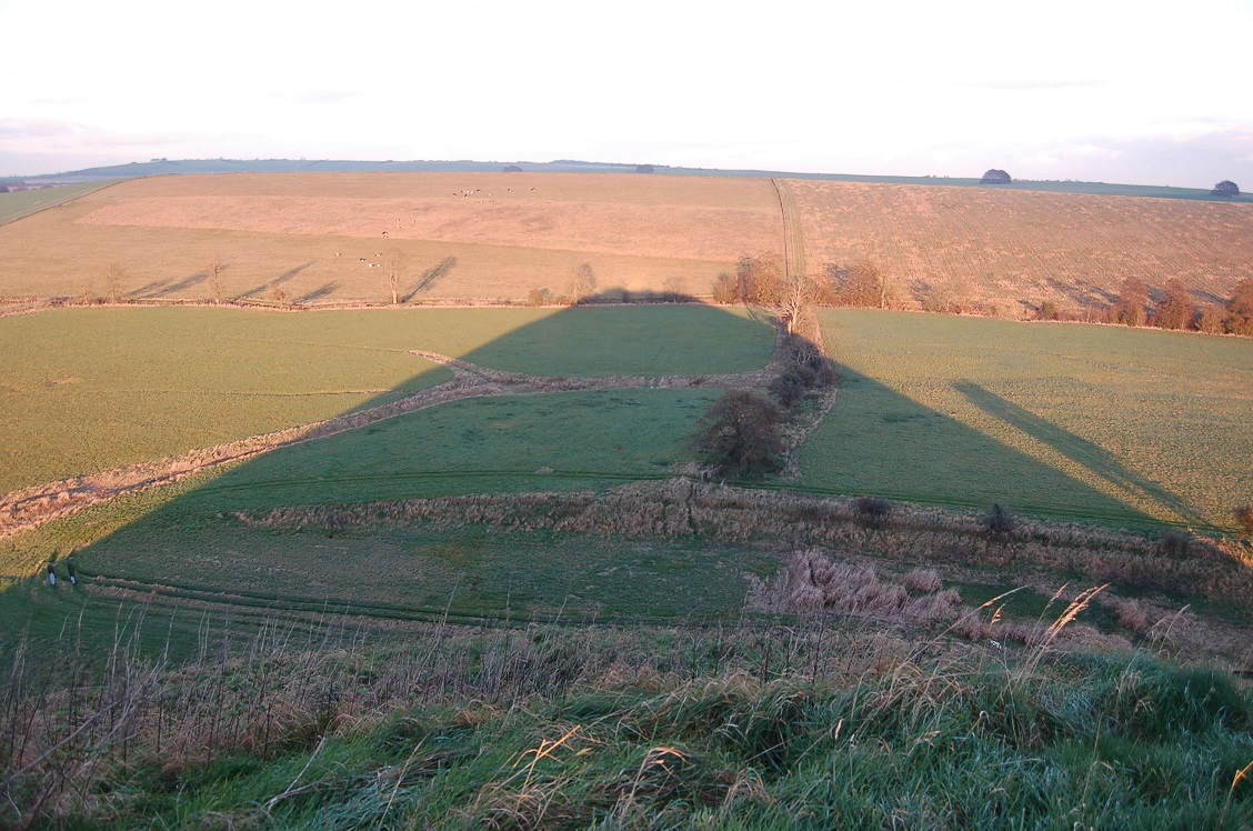 Shadow of Silbury Hill ©English Heritage