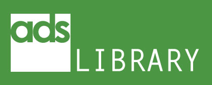 The new ADS library logo