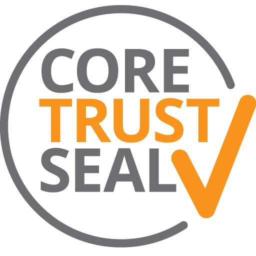 We have obtained the Core Trust Seal.