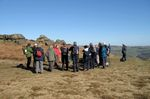 Blue skies over Ilkley. Landscape training with Al Oswald, March 2013. Image credit:  Richard Stroud.
