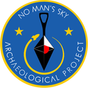 No Man's Sky Archaeology logo