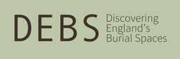 Discovering England's Burial Spaces Project logo