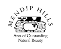 Mendip Hills Area of Outstanding Natural Beauty logo