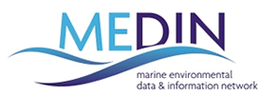 Marine Environmental Data Information Network (MEDIN) logo