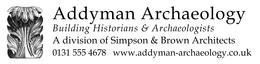 Addyman Archaeology logo